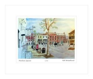 Pershore Square - vintage